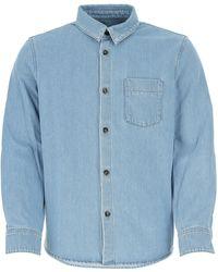 A.P.C. Denim Shirt - Blue