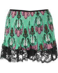 Paco Rabanne Satin Shorts - Multicolour