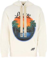 Loewe Ivory Cotton Paula's Ibiza Sweatshirt - White