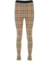 Burberry Embroidered Stretch Nylon leggings Nd - Multicolor