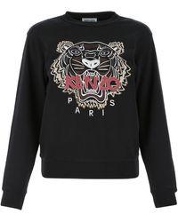 KENZO Black Cotton Sweatshirt Nd