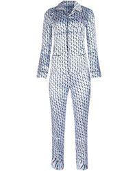 Prada printed Viscose Pajamas - Blue