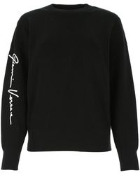 Versace Black Wool Sweater Nd