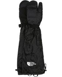MM6 by Maison Martin Margiela Nylon Expedition Tabi Gloves - Black