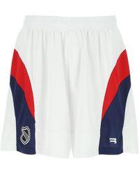 Balenciaga Multicolor Polyester Bermuda Shorts