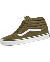 Vans Ward Hi Sneaker - Grün