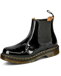 Dr. Martens Lamper Chelsea Boots - Schwarz