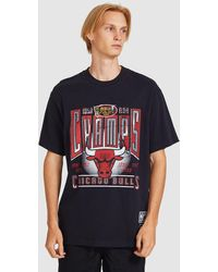 Mitchell & Ness Vintage Winner Takes All Chicago Bulls Ss Tee Vintage Black