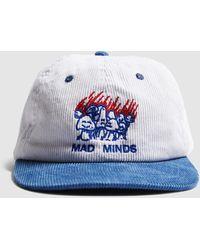 Misfit War Candles Cord Strap Back Cap - White/blue