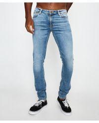 Nudie Jeans - Skinny Lin Jeans Old Blues - Lyst