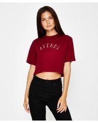 Afends - Celeste Box Short Sleeve T-shirt Red - Lyst