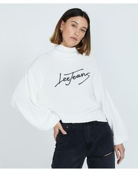 Lee Jeans Belle Knit Snow - White
