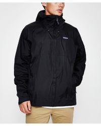 Patagonia - Torrentshell Jacket Black - Lyst