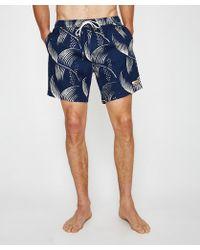 Deus Ex Machina - Sandbar Vintage Palm Boardshort - Lyst