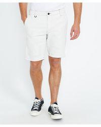 Neuw Cody Shorts Marble White