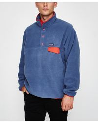 Patagonia - Lightweight Synchilla Snap Pullover Dolomite Blue - Lyst