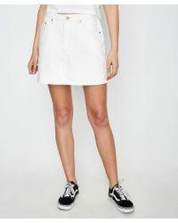 Insight - Sasha A-line Skirt Nu Ecru - Lyst