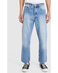 Dr. Denim Dash Relaxed Jeans Stone Cast Blue