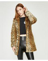 Neon Hart Moss Faux Leopard Jacket - Multicolour