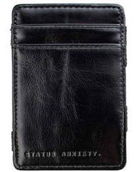 Status Anxiety - Flip Wallet Black - Lyst