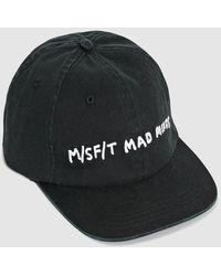 Misfit Micro Bulb Clasp Back Cap - Washed Black