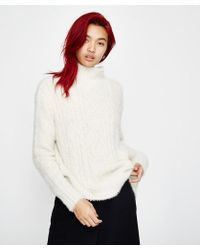 Amuse Society - Cool Winds Jumper Stone - Lyst
