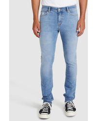 Dr. Denim Chase Skinny Jeans Azure Blue