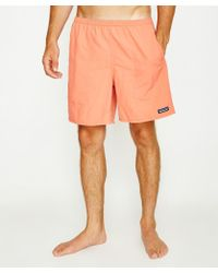 Patagonia - Baggies Boardshort Spiced Coral - Lyst