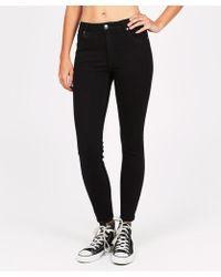 Neuw - Vintage Skinny Form Pure Black Jean - Lyst