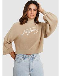 Lee Jeans Belle Knit Desert Sand - Natural