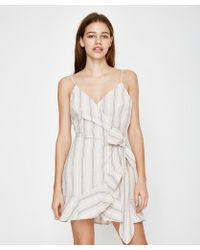 The Fifth Label - Voyage Wrap Dress Sand - Lyst