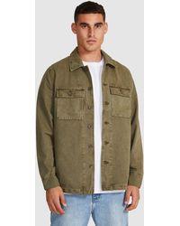 Neuw Surplus Overshirt Military - Green