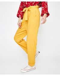 MINKPINK - Sunglow Tailored Pant Yellow - Lyst