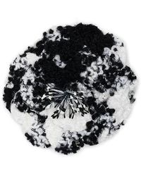 Philosophy Di Lorenzo Serafini Spilla bijoux maxi flower in tweed - Multicolore