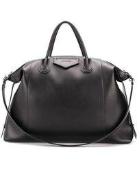 Givenchy Borsa Antigona Soft XL di pelle morbida - Nero
