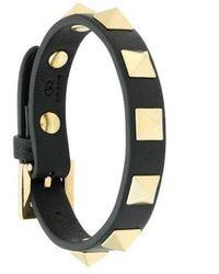 Valentino Garavani Rockstud Bracelet - Black