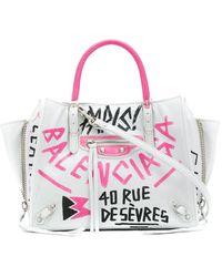 Balenciaga - Papier A4 Mini Bag - Lyst