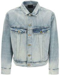 Fear Of God Blue Vintage Wash Denim Jacket