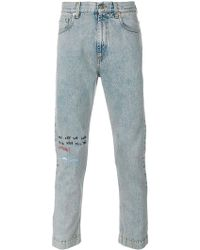 Gucci - Coco Capitan Cropped Jeans - Lyst