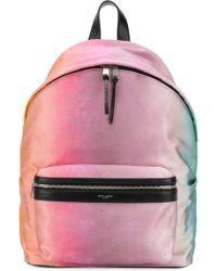Saint Laurent - Gradient Backpack - Lyst
