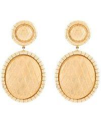 Ivi Signora Drop Earrings - Metallic