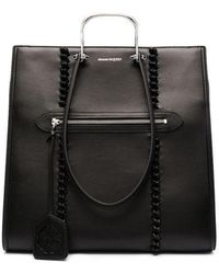 Alexander McQueen Borsa The Tall Story in nero