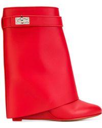 Givenchy - Shark Lock Boots - Lyst