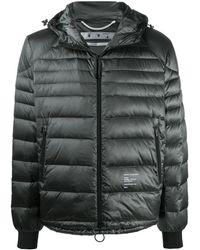 Off-White c/o Virgil Abloh Logo-print Packable Puffer Jacket - Multicolour