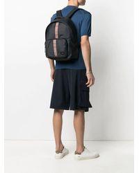 Paul Smith Black Signature Stripe Backpack