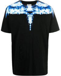Marcelo Burlon Wings Black T-shirt