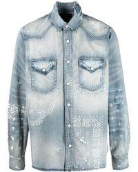 Amiri Denim Shirt - Blue