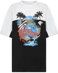 Vetements Print T-shirt - White