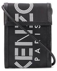 KENZO Shoulder Strap Phone Case - Black
