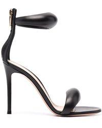 Gianvito Rossi Black Bijoux Sandals